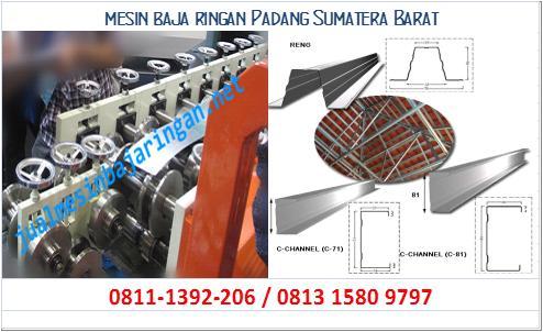 mesin baja ringan Padang Sumatera Barat