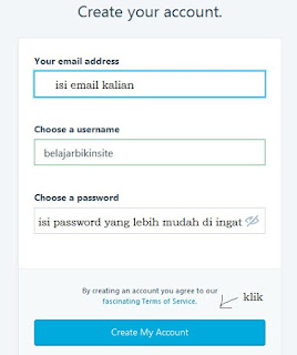 isi email password wordpress