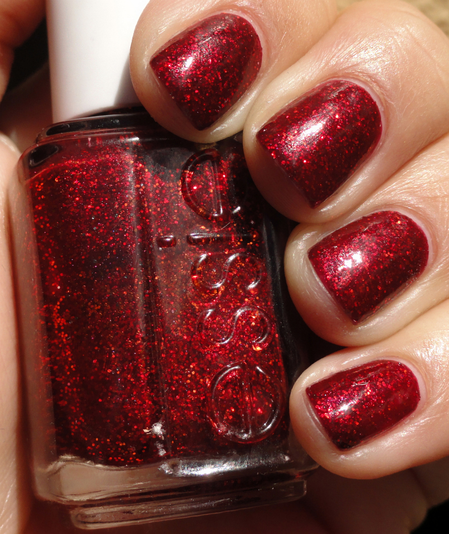 Ruby Nail Polish: KellieGonzo: Essie Ruby Slippers