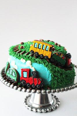 Steam Train Cake Pan