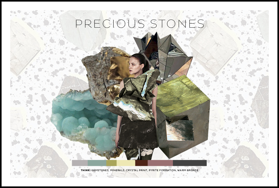 DESIGN COMPETITION // FRONT ROW SOCIETY - PRECIOUS STONES