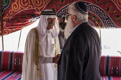 Un jeque de la tribu prominente Adwan de Jordania causó revuelo recientemente  cuando dijo que Israel pertenece a los Judios, y que las reclamaciones palestinas al territorio son falsas.