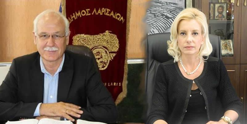 Ο Δήμος Λαρισαίων απαντά στην Ρένα Καραλαριώτου για τον Πηνειό
