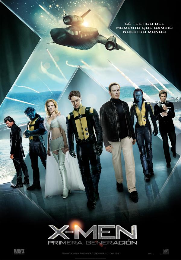 Poster final de X-men: Primera Generación