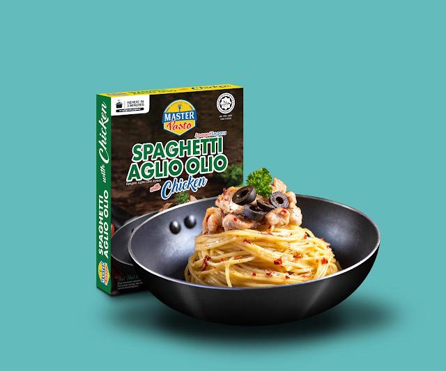spageti segera 3 minit