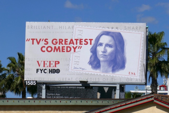 Veep final season Emmy FYC billboard