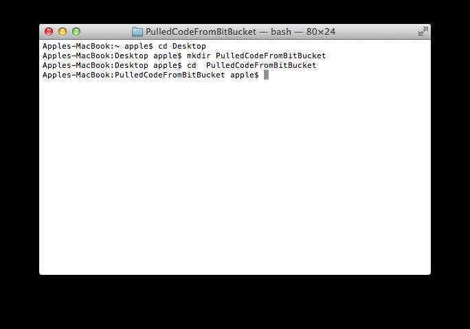 Bitbucket Code Pull1