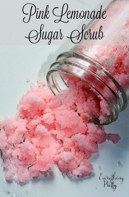 Pink sugar scrub recipe