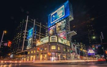 Wallpaper: Night Life in Toronto