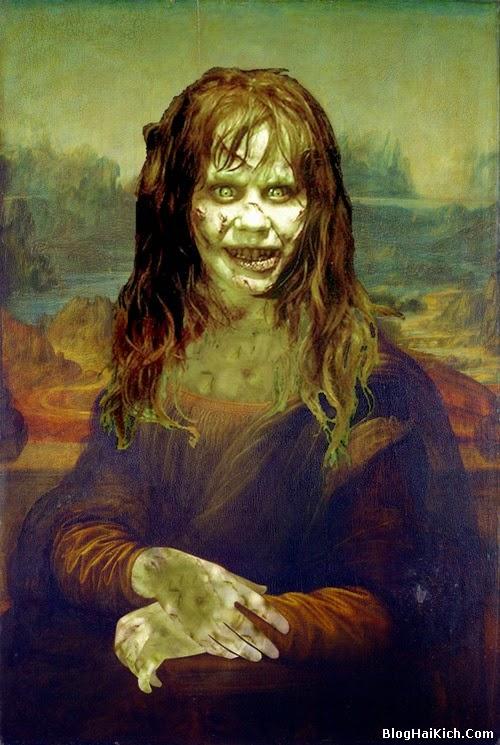 ảnh chế nàng Mona Lisa - Tranh 2