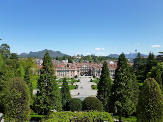 Varese's town hall is the Palazzo Estense, set in several acres of beautiful gardens