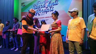 Lagu 'Demo Integritas' dari Sumbar Talenta Akan Dirilis KPK RI