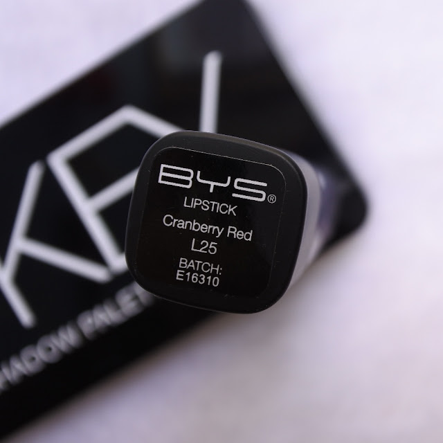 Review BYS Lipstick