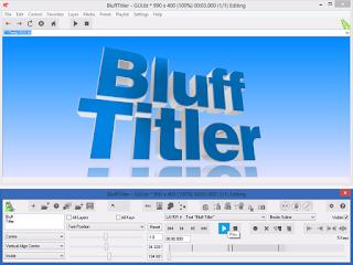 تحميل برنامج لتصميم وإنشاء رسوم متحركة وعناوين ثلاثية الأبعادBluffTitler Ultimate 14.1.2.1