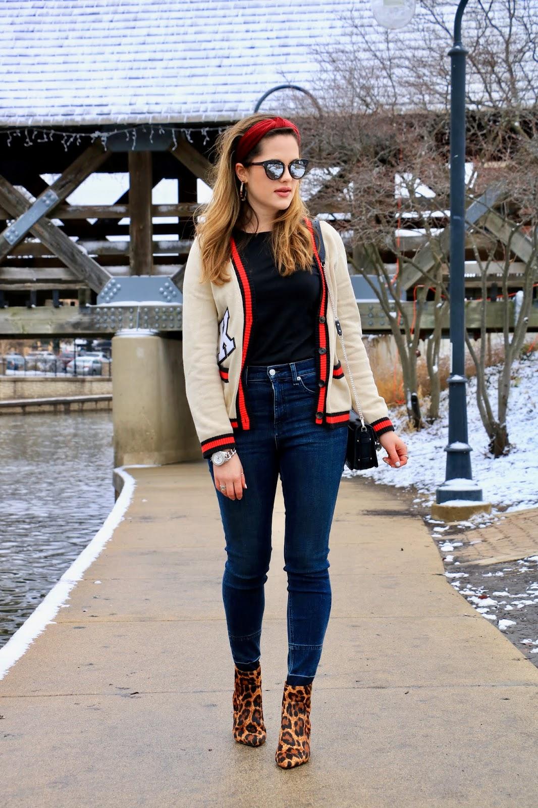 Nyc fashion blogger Kathleen Harper's winter street style 2019