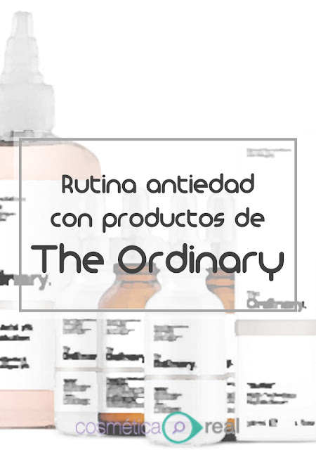 Rutina Antiedad con productos de The Ordinary