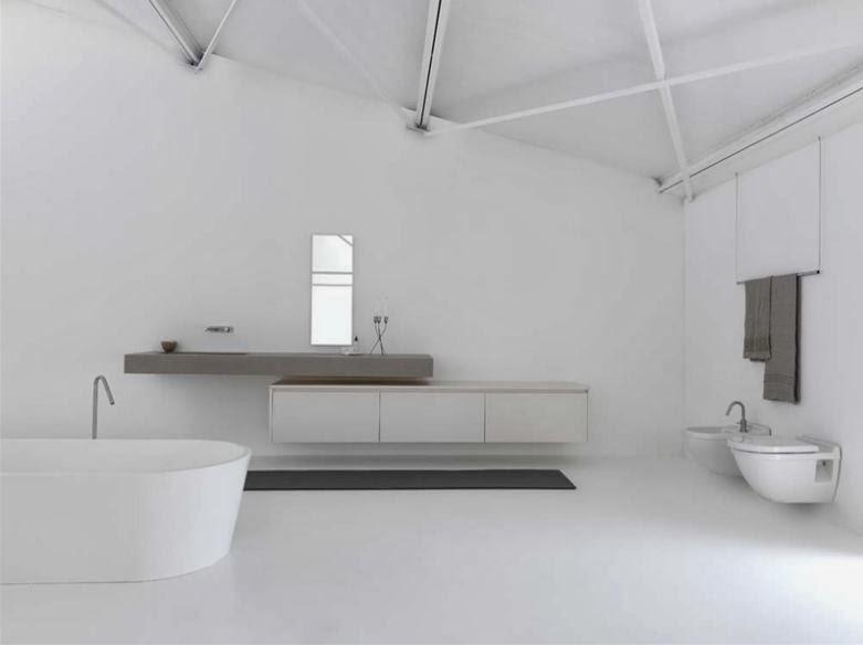 Arredo in rinnovare bagno e cucina senza togliere le piastrelle - Bagno senza piastrelle ...