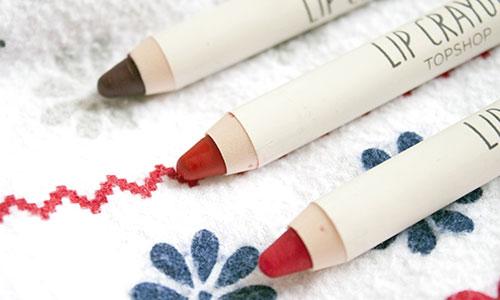 Productos de maquillaje para labios: lápices de labios
