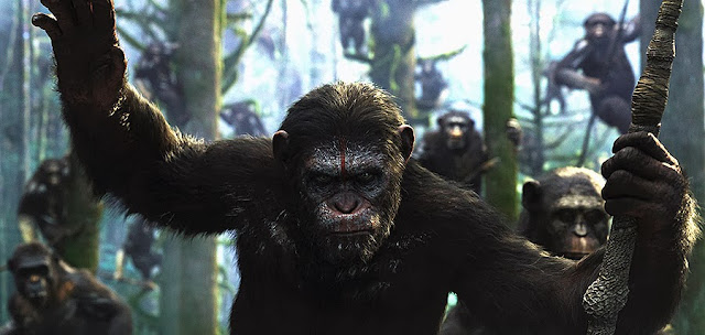 Caesar conduce revolta primatelor din Dawn Of The Planet Of The Apes in primul trailer oficial