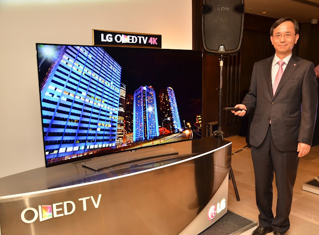 LG Electronics launches the 4K OLED television in India starting from Rs. 3,84,900