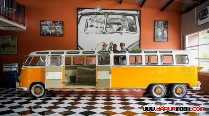 VW Kombi Terpanjang asal Indonesia