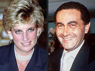 Princess Diana 36 And Dodi Al Fayed 42 D In A Paris Car Crash On 31 Aug 1997