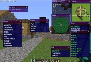 Hack minecraft pe huzuni mới
