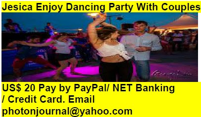 Jesica Enjoy Dancing Party With Couples Birthday Party Ring ceremony Party Rave Party Ladies Sangeet New Year Party Fresher Party Christmas Party Dance Party Office Party Fare Well Party Beer Party  book