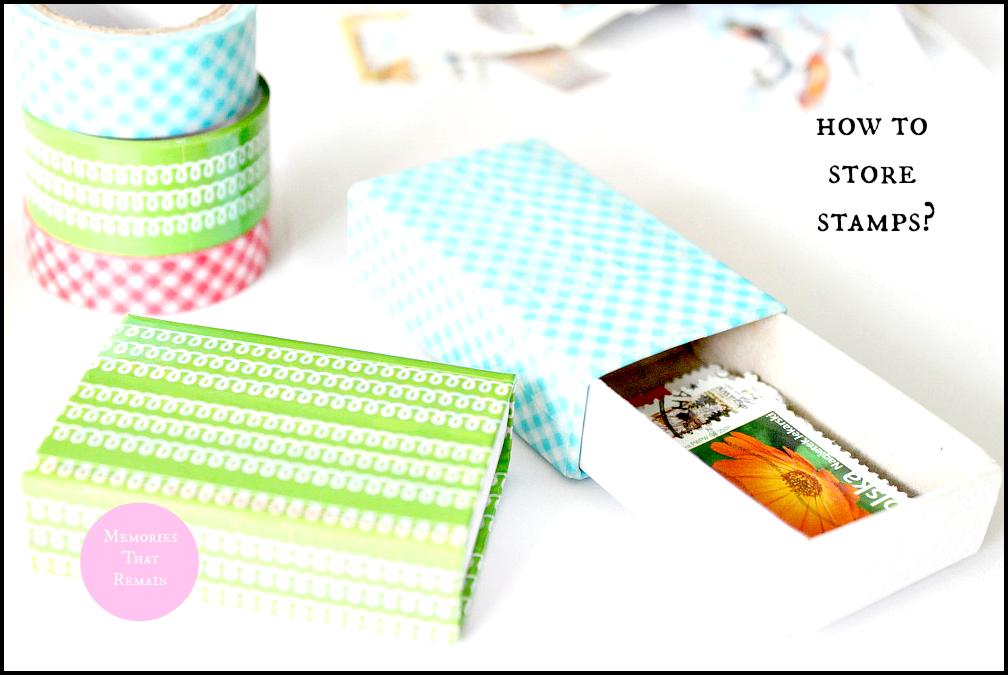 stamps storage