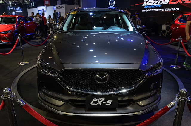 2017 Mazda CX-5 Crossover SUV Manila International Car Show 2017 World Trade Center Philippines  #mias2017 #mazda #mazdacx5