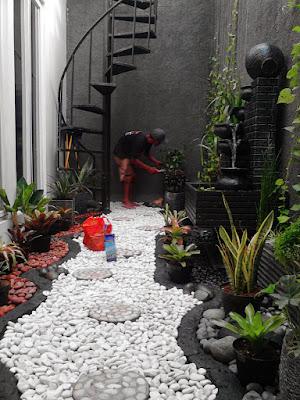 Tukang Taman Jogja Jawa Tengah Taman Kering