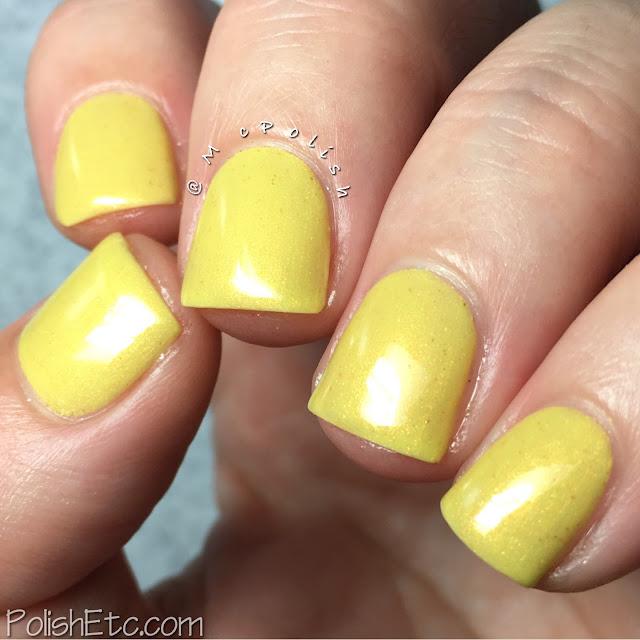 Takko Lacquer - Lemon Macaroon - McPolish