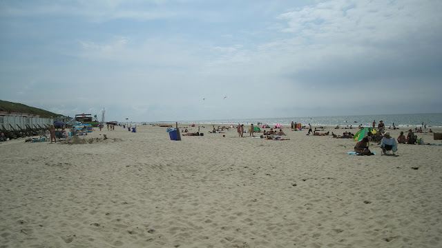 Zee met strand in Noord-Holland