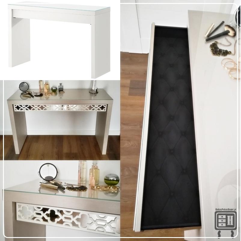 Toaletka lustrzana IKEA MALM - jak wykonać ją samodzielnie?