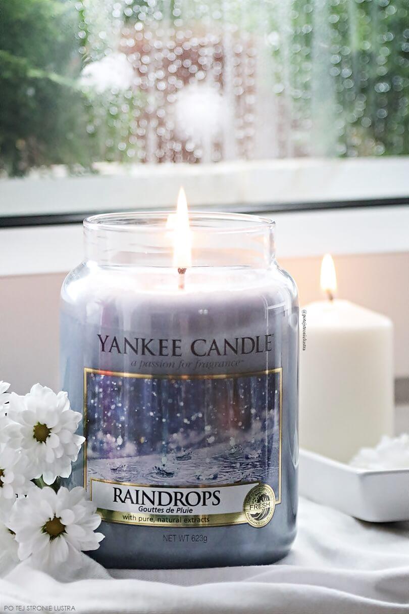 świeca zapachowa yankee candle raindrops