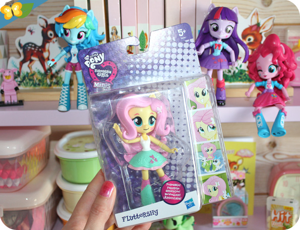 Poupées Equestria Girls Minis : Fluttershy