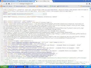 Проверка мета-тэга на странице блога