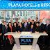 Playa Hotels & Resorts toca la campana del cierre de sesiones en el NASDAQ
