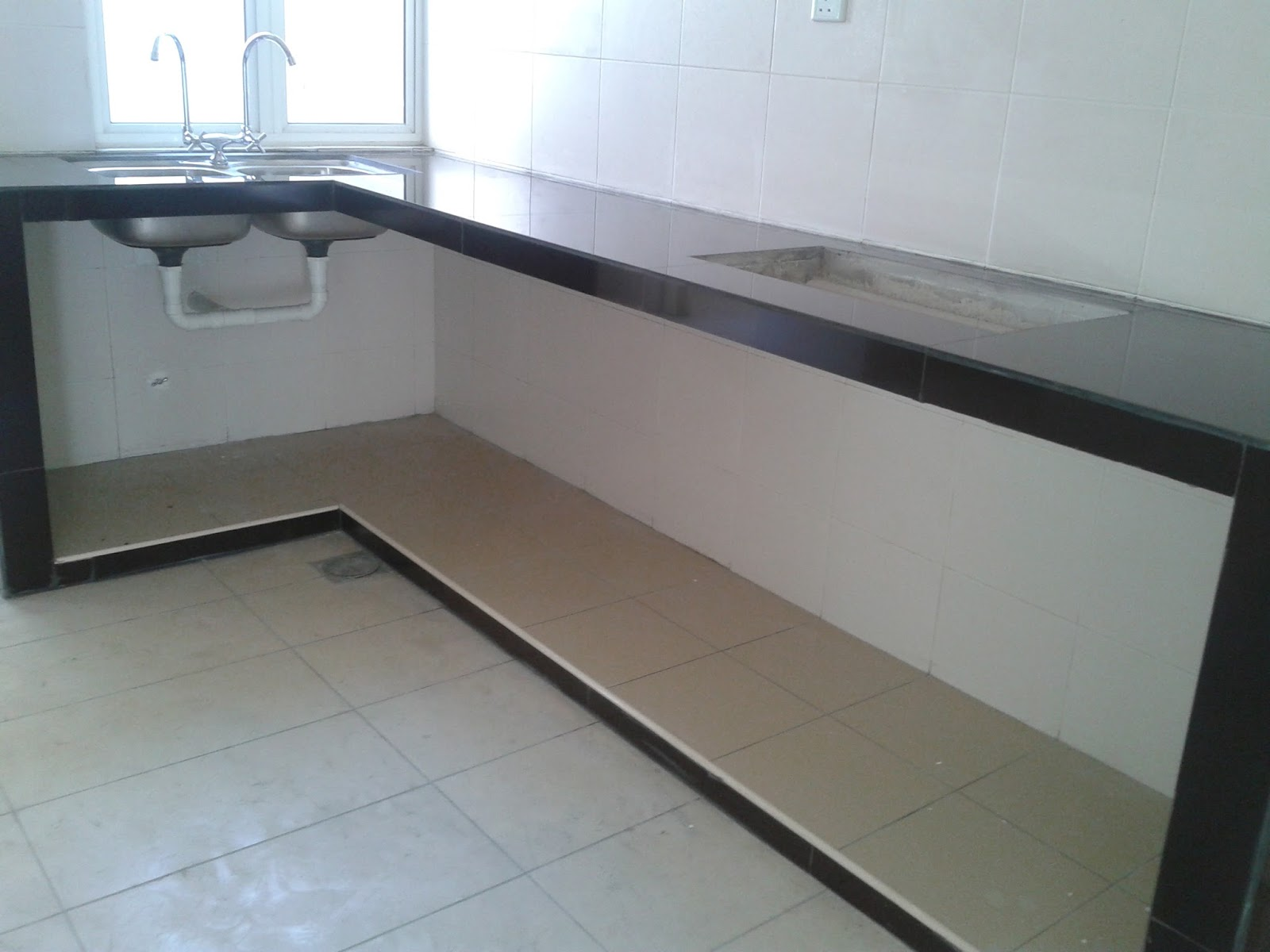 TGSS Bangi Renovation and Plumbing : Membuat Table Top dan ...