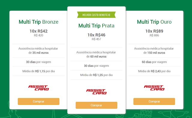 Seguro viagem multitrip - mais economia para quem viaja muito