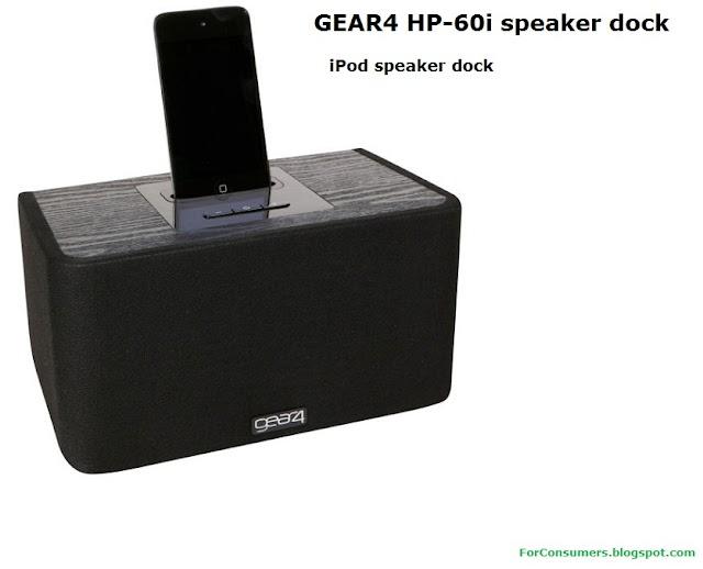 GEAR4 HP-60i iPod speaker dock
