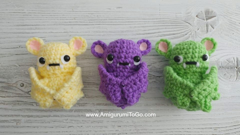 Wing Tutorial for Tiny Cthulhu | Crochet fairy, Crochet dragon ... | 540x960