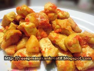 resep sambal tahu apel malang
