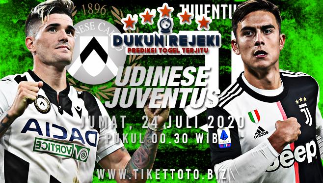 Prediksi Bola Udinese vs Juventus Jumat 24 Juli 2020