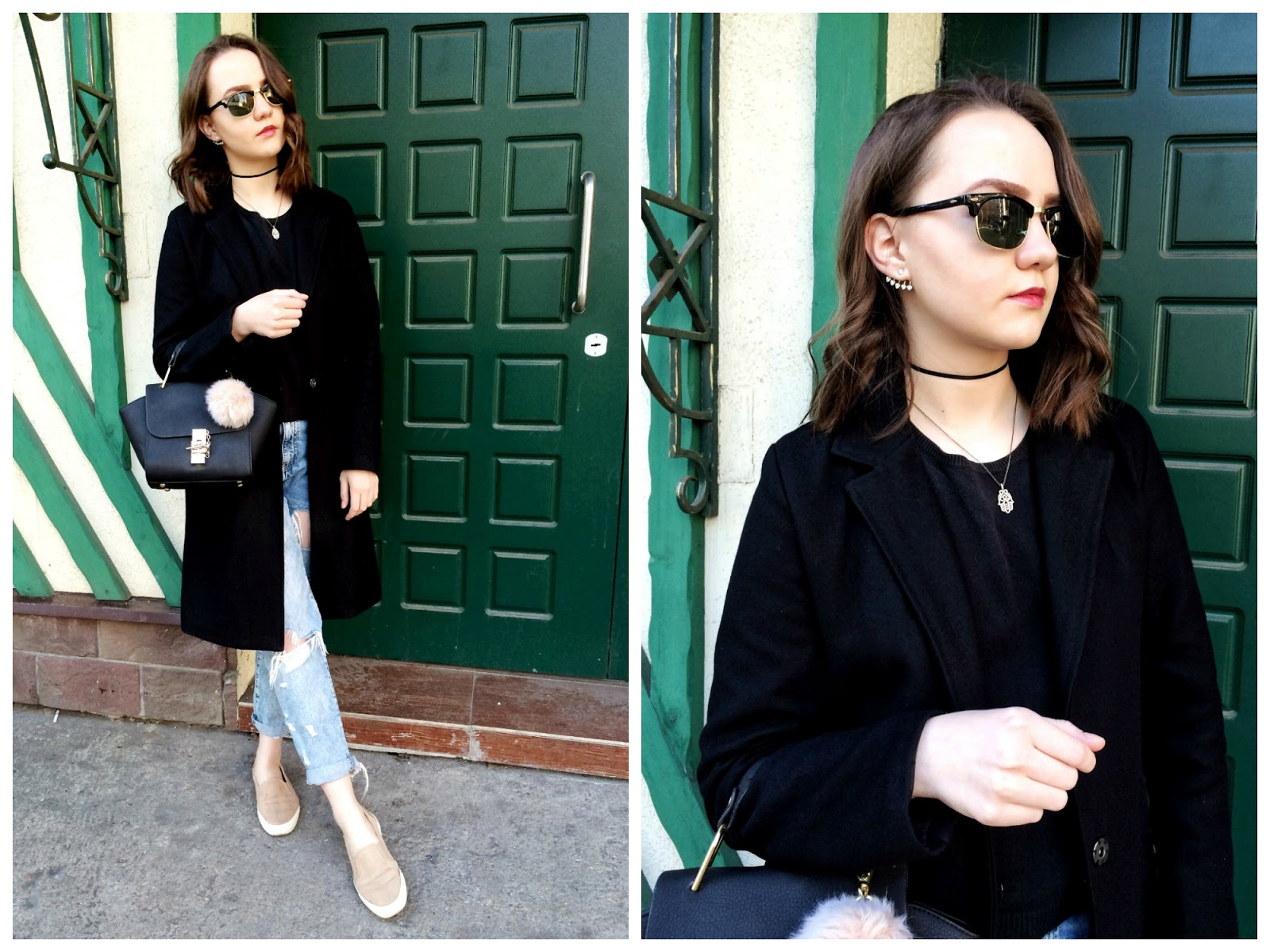 Hindsight Vintage Sunglasses | Fashion Blogger