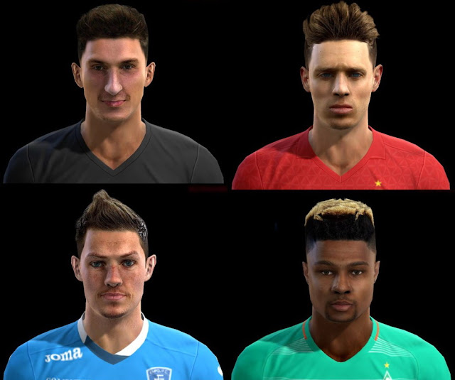 PES 2013 Happy New Year Facepack by Pablobyk