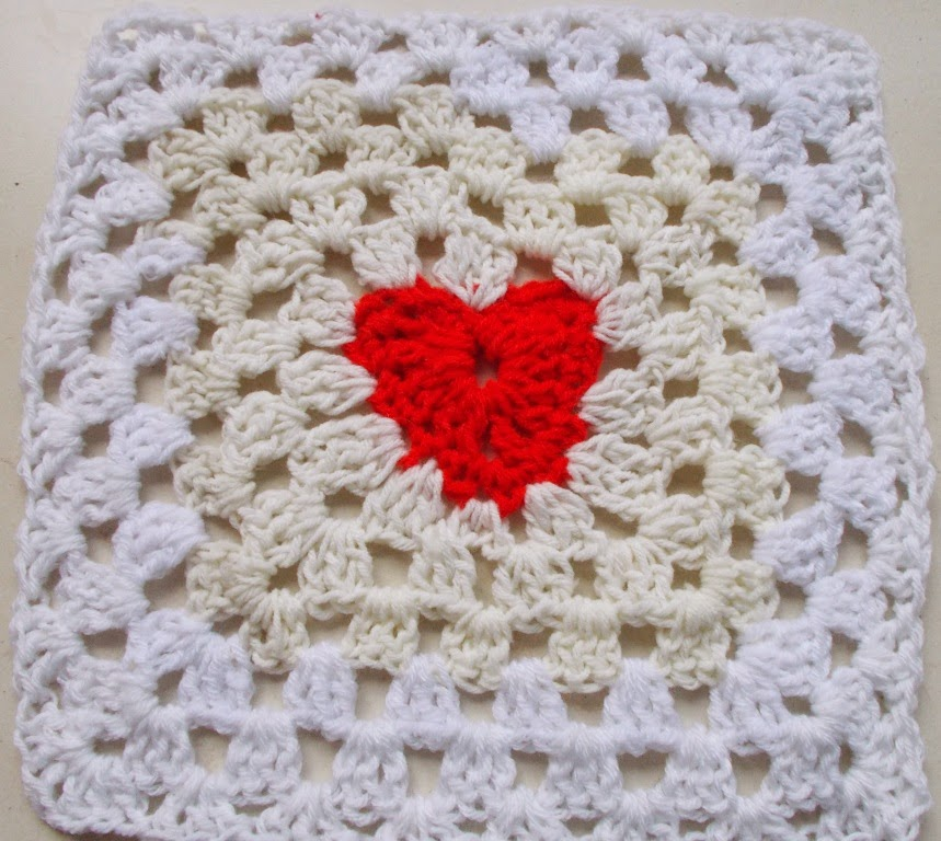free crochet granny squares pattern