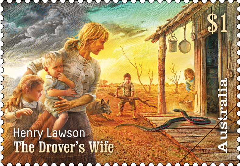 the drovers wife analysis In our prescribed text, 'the drover's wife', by using an anonymous bush woman as his protagonist, lawson extends his narrative beyond the story of a particular individual, to encompass the stories of all such women.