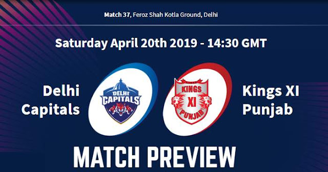 VIVO IPL 2019 Match 37 DC vs KXIP Match Preview, Head to Head and Trivia