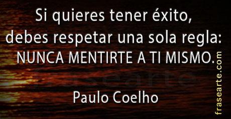Frases para tener éxito - Paulo Coelho